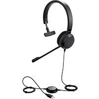 Jabra Evolve 30 II MS Stereo NC Headset 57773 - Skype Certified