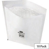 Jiffy Airkraft Size 5 Mailer Bubble Lined Bags White 260x345mm Pack of 10