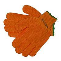 """JSP Orange Gripper Work Gloves Size 10 Large 9""""- 10"""" Pack 1 EN420"""