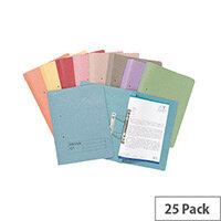 Guildhall Buff Transfer File Foolscap Pack of 25
