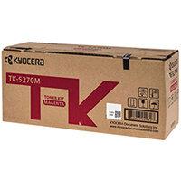 Kyocera Toner Cartridge Magenta TK-5270M 1T02TVBNL0