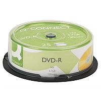 Q-Connect DVD-R Spindle Pack of 25