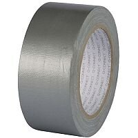 Q-Connect Silver Duct Tape 48mmx25m Roll Pack of 1 KF00290