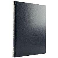 Q-Connect A5 Manuscript Book Ruled Feint 96 Pages Blue E00062
