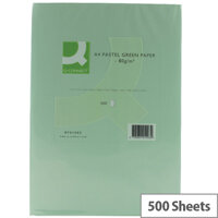 Q-Connect Green A4 Paper 80gsm 500 sheets