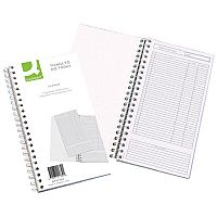 Q-Connect Things To Do Today Book Wirebound - List up to 20 tasks and tick when completed - this book is ideal for use in the office or the workplace
