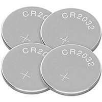 Q-Connect CR2032 Lith Coin Cell Battery Pack of 4 KF15036