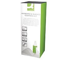 Q-Connect Keyboard and Surface Cleaning Kit Pack of 1 AKSC000QCA