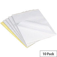 Q-Connect A4 Memo Pad 56gsm Pack of 10