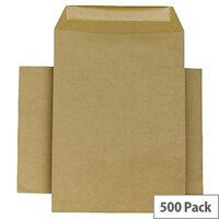 Q-Connect Envelopes C5 80gsm Manilla Self-Seal Pack of 500 KF3516