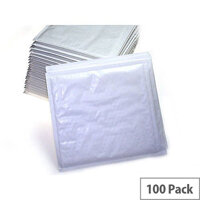 Q-Connect Padded Gusset C4 Envelopes 324x229mm White Pack of 100
