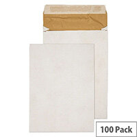 Q-Connect E4 Padded Gusset Envelopes White 400x280mm Pack of 100