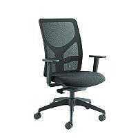 Arista Push Mech Mesh Task Operator Black Office Chair KF74644