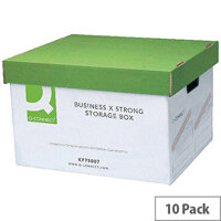 Q-Connect Business Storage Trunk Box W380xD455xH255mm 10 Pack