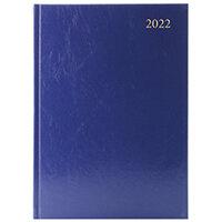 Desk Diary Week To View A5 Blue 2022 KFA53BU22
