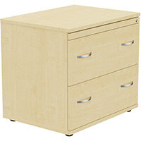 2 Drawer Side Filer Cabinet Maple  - Universal Storage Can Be Used Alone Or Accompany The Switch, Komo or Ashford Ranges