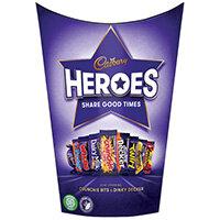 Cadbury Heroes Chocolates Tub 185G 669020