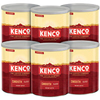 Kenco Smooth Case Deal 750g Pack of 6 4032075