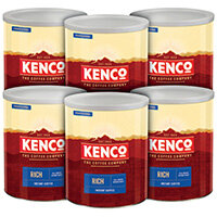 Kenco Rich Coffee Case Deal 750g Pack of 6 4032089