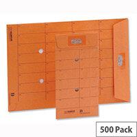 New Guardian Internal Mail C5 Envelopes 85gsm Resealable Orange (500 Pack)