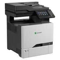 Lexmark CX725DE A4 Colour Laser 4-in-1 Multifunction Printer - Print, Copy, Scan, Fax - 47ppm, 2400x600dpi, 650 Sheets - USB, Network, Wi-Fi - Colour: Grey & Black