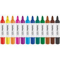 Graffico Jumbo Marker Assorted Pack of 12 6190/12