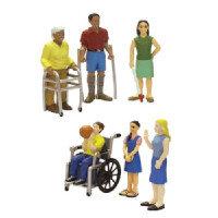 Vinyl Doll Figures - Additional Needs