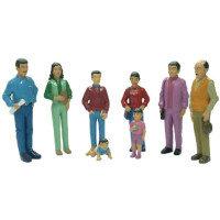 Family Block Figures Small World - Latin America Ref:MD27398