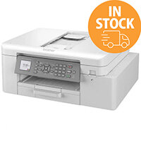 Brother MFC-J4340DW Professional 4-in-1 (Print, Scanner, Copying, Fax) Colour Inkjet Printer for Home Working A4-Format Media - WiFi, USB, Duplex Printing, ADF - 150 Sheets Media Feeder