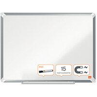 Nobo Premium Plus Magnetic Steel Whiteboard 600 x 450mm 1915154
