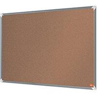 Nobo Premium Plus Cork Notice Board 1200 x 900mm 1915181