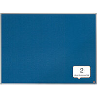 Nobo Essence Felt Notice Board 600 x 450mm Blue 1915201