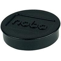 Nobo Whiteboard Magnets 38mm Black Pack of 10 1915312
