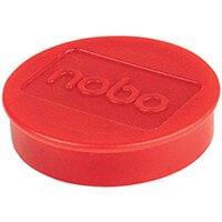 Nobo Whiteboard Magnets 38mm Red Pack of 10 915314