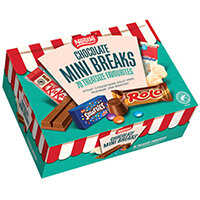 Nestle Chocolate Mini Breaks Pack of 70 12459813