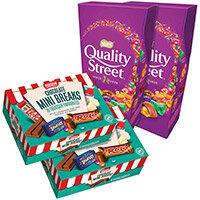 Nestle Chocolate Mini Break Pack of 70 Buy 2 Get FOC Quality Street