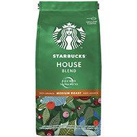 Starbucks House Blend Medium Roast Ground Coffee 200g Pack of 6 12400244