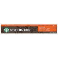 Nespresso Starbucks Colombia Espresso Coffee Pods Pack of 10 12423359