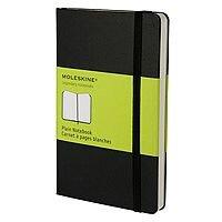 Moleskine Classic Notebook Plain Large Hard Black QP062