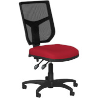 OA Series Mesh Back Office Chair with Adjustable Black Mesh Back & Bespoke Evert Fabric Seat