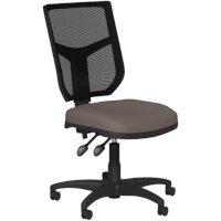OA Series Mesh Back Office Chair with Adjustable Black Mesh Back & Bespoke Lotus PU Seat