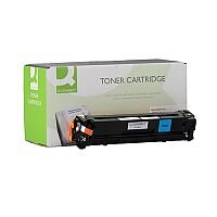 HP 125A Compatible Cyan Laser Toner Cartridge CB541A Q-Connect