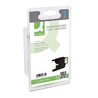 Brother LC1240 Compatible Cyan Inkjet Cartridge Q-Connect