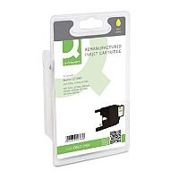 Brother LC1240 Compatible Yellow Inkjet Cartridge Q-Connect