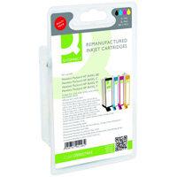 Q-Connect HP 364XL Ink Cartridge HY Colour Pack of 4 N9J74AE-COMP
