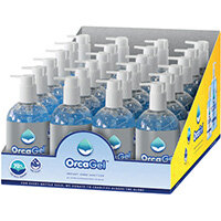 Orcagel Hand Sanitiser 250ml Pump 70% Pack of 24 ORC034