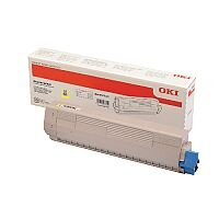 OKI 46471101 Yellow Standard Capacity Toner Cartridge