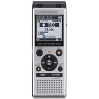 "Olympus WS-852 Digital Voice Recorder Silver With Low-Noise Directional Stereo Microphones. Includes ""Auto Mode"" To Automatically Adjust Recording Level For an Even Sound quality. Ideal For Offices, Meeting Rooms, Conferences & More."