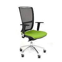 Ergonomic Mesh Task Operator Office Chair Adjustable Arms Black/Green OZ Series