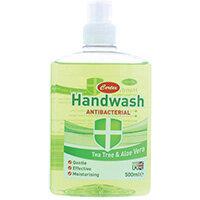 Certex Handwash Antibacterial Tea Tree/Aloe 500ml TOCER002 Pack of 12)
